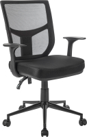Кресло офисное Mio Tesoro Грейсон AF-C4209 (черный) -