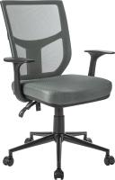 Кресло офисное Mio Tesoro Грейсон AF-C4209 (серый/черный) -