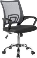 Кресло офисное Mio Tesoro Смэш AF-C4021 (серый/черный) -