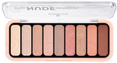 Палетка теней для век Essence The Nude Edition Eyeshadow Palette тон 10 guerlain palette golden bee палетка теней для век