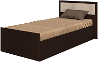 Односпальная кровать Ricco Фиеста 90x200 (венге/дуб атланта) -