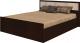Полуторная кровать Rikko Фиеста 140x200 (венге/дуб атланта) -