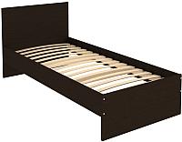 Односпальная кровать Уют Сервис Гарун К09 (венге) -