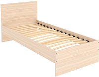 Односпальная кровать Уют Сервис Гарун К09 (молочный дуб) -