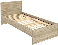 Односпальная кровать Уют Сервис Гарун К09 (дуб сонома) -