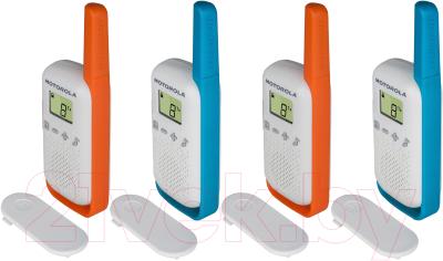 Комплект раций Motorola Talkabout T42 Quad Pack (4шт)