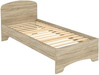 Односпальная кровать Уют Сервис Гарун КМ09 (дуб сонома) -