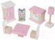 Комплект аксессуаров для кукольного домика Levenya Cubika Набор Мебели 3 / 13975 -