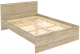 Полуторная кровать Уют Сервис Гарун К14 (дуб сонома) -