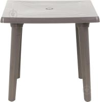 Стол пластиковый Алеана Квадратный 80x80 (капучино) -