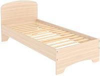Односпальная кровать Уют Сервис Гарун КМ09 (молочный дуб) -