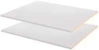 Комплект полок вкладных Рэйгрупп Line / EL-01.16 LINE-POL160 (2шт, пепел) -