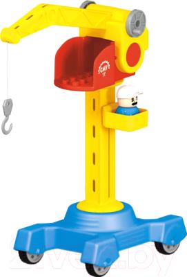 Кран игрушечный Stellar Башенный кран / 01460