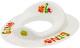 Детская накладка на унитаз Maltex Дино / 5954 (белый) -