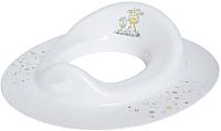 Детская накладка на унитаз Maltex Жираф / 7651 (белый) -