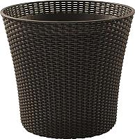 Кашпо Keter Conic / 231358 (коричневый) -