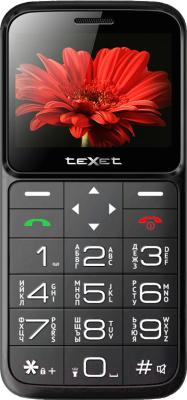 Мобильный телефон Texet TM-B226 (черный/красный)
