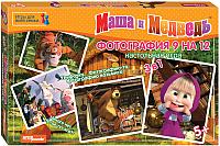 Набор игр Step Puzzle Фотография 9 на 12. Маша и Медведь / 76543 -