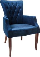 Кресло мягкое ФорестДекоГрупп Хорт (Vincent-12, темно-синий) -