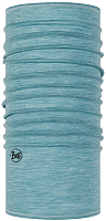 Бафф Buff LW Merino Wool Solid& Multi stripes Neckwear Solid Pool (113010.722.10.00) -