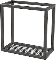 Полка Millwood Loft 4 40x20x40 (металл черный) -