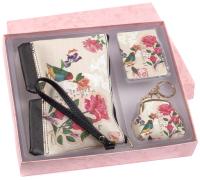Подарочный набор Белбогемия Зеркало, косметичка, монетница KO14019 / 94934 -