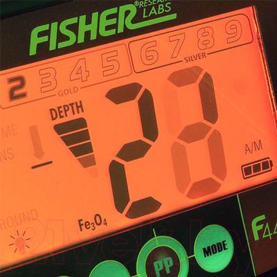 Металлоискатель Fisher Labs F44-11DDGWP (с пинпоинтером)