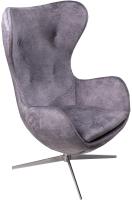Кресло мягкое ФорестДекоГрупп Trio (Vincent-13, серый) -