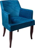 Кресло мягкое ФорестДекоГрупп Ягуар (Jaguar-09, синий) -