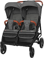 Детская прогулочная коляска Carrello Connect / CRL-5502 (Serious Black) -