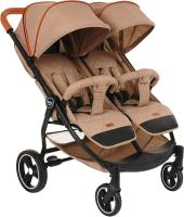 Детская прогулочная коляска Pituso Duocity / Т1 (бежевый) -
