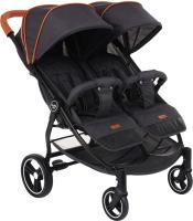 Детская прогулочная коляска Pituso Duocity / Т1 (черный) -