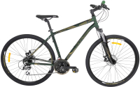 Велосипед AIST Cross 3.0 28 2020 (19, зеленый) -