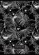 Тетрадь deVente Black White / 2058501 (80л, клетка) -