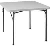 Стол складной Седия Складной 86x86x74 (белый) -