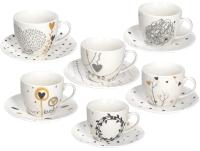 Набор для чая/кофе Tognana Iris/Goldy / IR685375563 (12пр) -