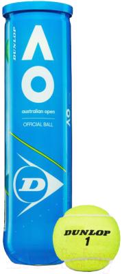 Набор теннисных мячей DUNLOP Australian Open / 622DN601356