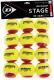Набор теннисных мячей DUNLOP Stage / 622DN601344 -