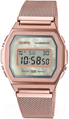 Часы наручные женские Casio A1000MCG-9EF