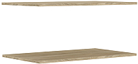 Комплект полок для шкафа Уют Сервис Гарун П103 (2шт, дуб сонома) -