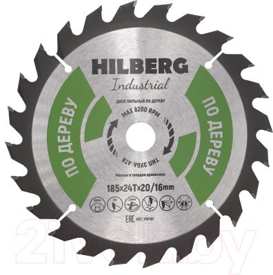 Пильный диск Hilberg HW185