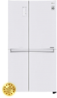 Холодильник с морозильником LG DoorCоoling+ GC-B247SVDC -
