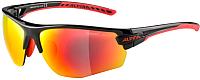 Очки солнцезащитные Alpina Sports Tri-Scray 2.0 HR / A86423-32 (черный/красный) -