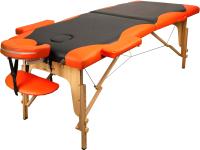 Массажный стол Atlas Sport 3D-60185/4B (черный/оранжевый) -