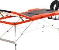 Массажный стол Atlas Sport 3AL-70195/4 (черный/оранжевый) -