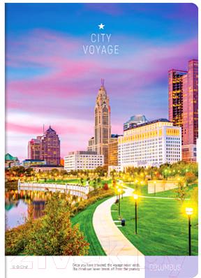 Тетрадь ArtSpace Путешествия. City Voyage / Т96А4к_21104 (96л, клетка)