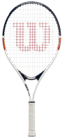 Теннисная ракетка Wilson Roland Garros Elite 19 / WR029710H (белый/синий/оранжевый) -