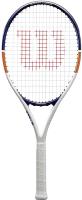 Теннисная ракетка Wilson Roland Garros Elite 21 / WR029610H (белый/синий/оранжевый) -