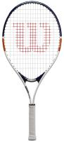 Теннисная ракетка Wilson Roland Garros Elite 23 / WR038810H (белый/синий/оранжевый) -