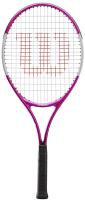 Теннисная ракетка Wilson Ultra Pink25 GR00 / WR027810U (розовый/белый/черный) -